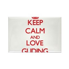 Keep calm and love Gliding Magnets