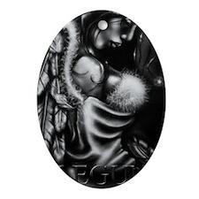 Legun Angel Oval Ornament