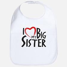 I HEAT MY BIG SISTER Bib