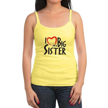 I HEAT MY BIG SISTER Tank Top