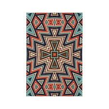 Aztec Tri-Cross Rectangle Magnet