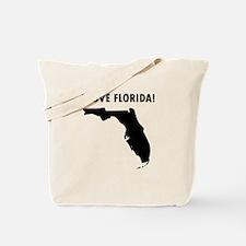 I Love Florida Tote Bag
