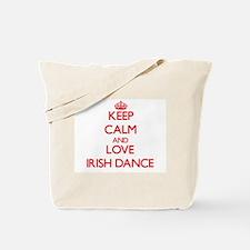 Keep calm and love Irish Dance Tote Bag