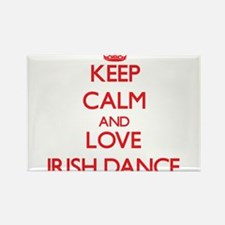 Keep calm and love Irish Dance Magnets