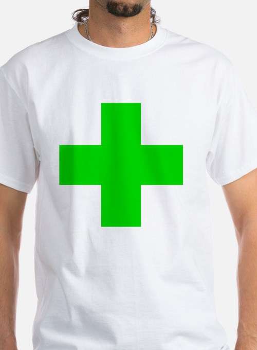 Medical Marijuana Cross Shirt