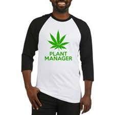 Plant Manager Weed Pot Cannabis Baseball Jersey