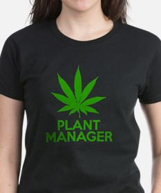 Plant Manager Weed Pot Cannab Tee