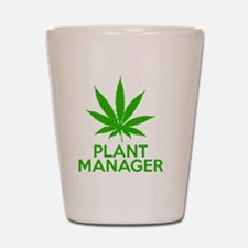 Plant Manager Weed Pot Cannabis Shot Glass