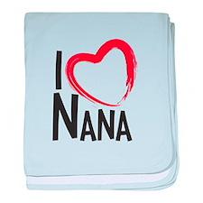I heart nana, I love nana, I love grandma baby bla