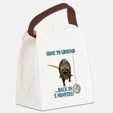 EARTHDOG Canvas Lunch Bag