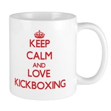 Keep calm and love Kickboxing Mugs