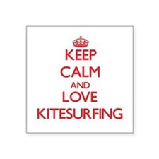 Keep calm and love Kitesurfing Sticker