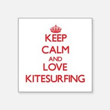 Keep calm and love Kitesurfing Sticker