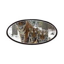 TIGER IN THE SNOW Patches