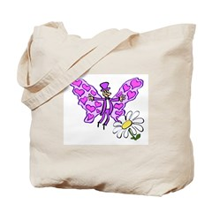Loverfly Tote Bag