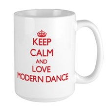 Keep calm and love Modern Dance Mugs