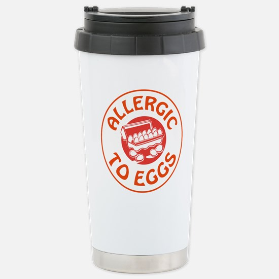 ALLERGIC TO EGGS Travel Mug