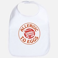 ALLERGIC TO EGGS Bib
