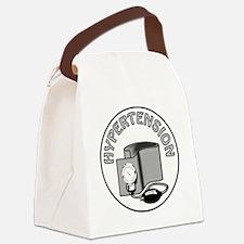 HYPERTENSION Canvas Lunch Bag