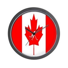 Team Ice Hockey Canada Wall Clock
