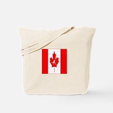 Team Ice Hockey Canada Tote Bag
