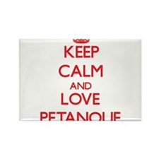 Keep calm and love Petanque Magnets