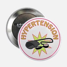 "HYPERTENSION 2.25"" Button (10 pack)"
