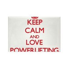 Keep calm and love Powerlifting Magnets