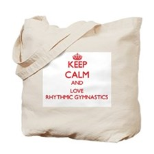 Keep calm and love Rhythmic Gymnastics Tote Bag