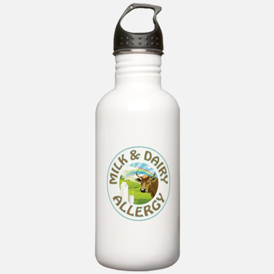 MILK AND DAIRY ALLERGY Water Bottle