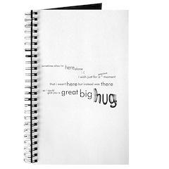A Great Big Hug Journal