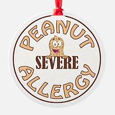 SEVERE PEANUT ALLERGY Ornament
