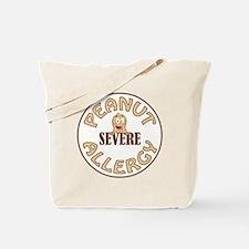 SEVERE PEANUT ALLERGY Tote Bag