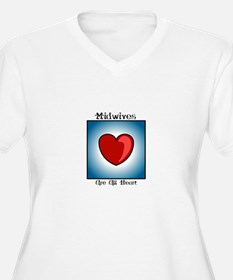 Midwives Are All Heart T-Shirt