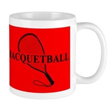 Racquetball Mug Red