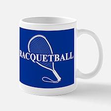 Racquetball Mug Blue