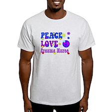 Trauma Nurse Peace Love T-Shirt