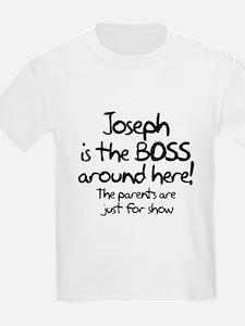 Joseph is the Boss T-Shirt