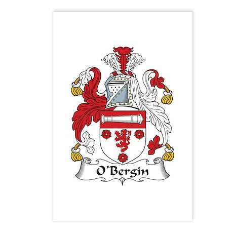 O'Bergin Postcards (Package of 8)