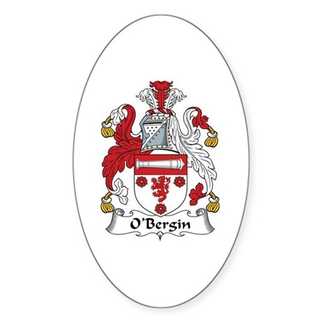 O'Bergin Oval Sticker