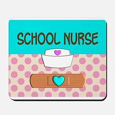 School Nurse 2 Mousepad