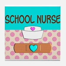 School Nurse 2 Tile Coaster