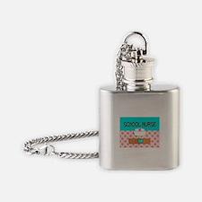 School Nurse 2 Flask Necklace