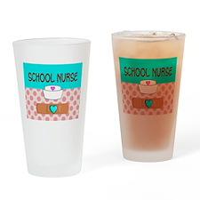 School Nurse 2 Drinking Glass
