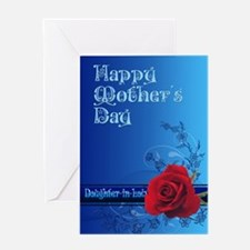 For a daughter-in-law, a mothers day card with a r