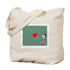 The Heart Of Kissing Tote Bag