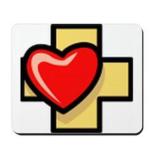 Love the Cross Mousepad