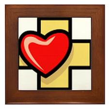 Love the Cross Framed Tile
