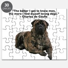 Bullmastiff Brindle-love dogs Puzzle