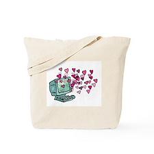 Virtual Love Tote Bag